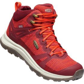 Keen Terradora II Mid WP Shoes Women rhubarb/jam